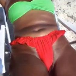 Big Ass And Pussy From Brazil - Beach, Outdoors, Beach Voyeur