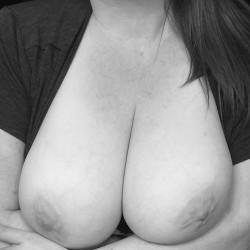 Large tits of my girlfriend - Monica
