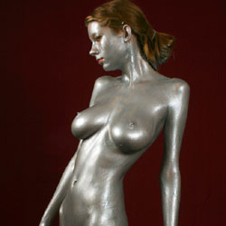Body Painted Statue
