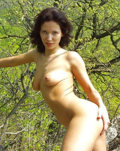 Pic #5 - Angelina Nude Trekking
