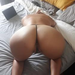 My girlfriend's ass - Carly