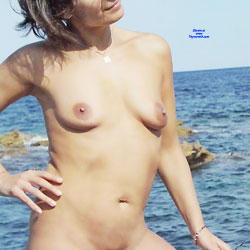 Wedding Anniversary Treat  For Tom - Nude Wives, Beach, Outdoors, Bush Or Hairy, Amateur