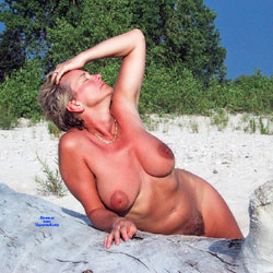 At The Beach - Nude Wives, Big Tits, Outdoors, Amateur