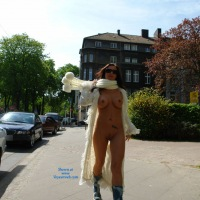 Jana in Dortmund - Public Exhibitionist, Public Place