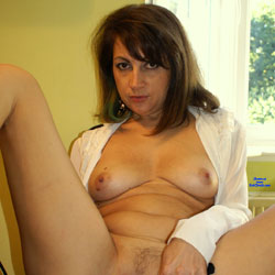 The 'Missing 6'  - Brunette, Close-Ups, Pussy, Amateur, legs spread wide open