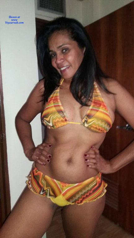 Pic #1 Morena Bella 21 - Nude Amateurs, Big Tits, Brunette, Mature