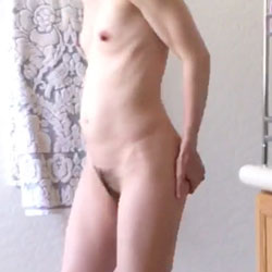 Using The Toilet - Nude Girls, Small Tits, Bush Or Hairy, Amateur, Mature