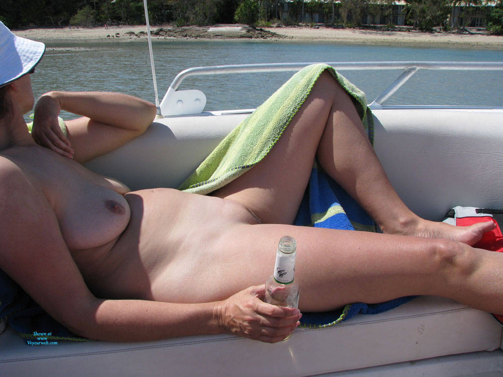 Pic #2 Mother Of 3 - Some Other Beach Photos - Nude Amateurs, Beach, Big Tits, Mature, Outdoors