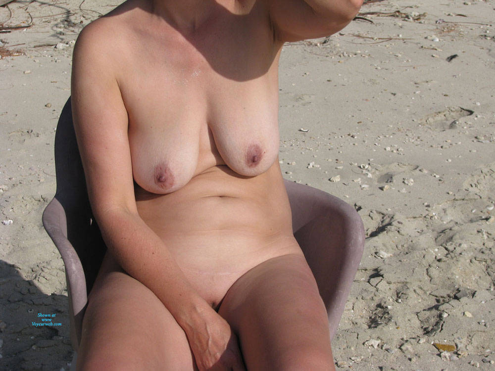 Pic #5 Mother Of 3 - Some Other Beach Photos - Nude Amateurs, Beach, Big Tits, Mature, Outdoors