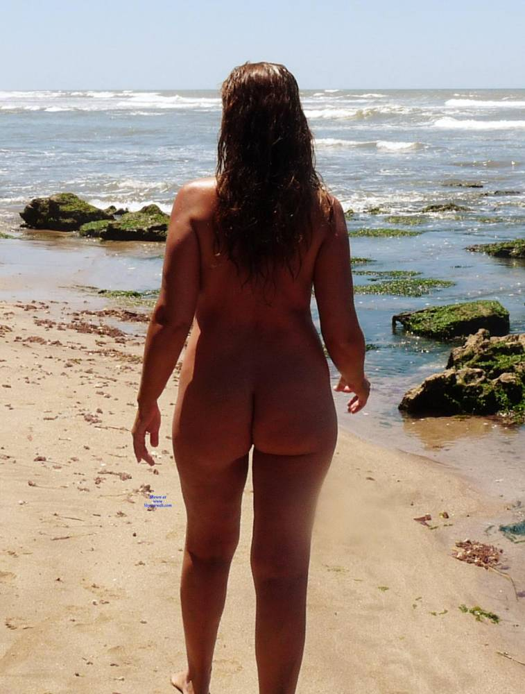 Pic #2 Naked In The Sun - Nude Girls, Beach, Big Tits, Outdoors, Shaved, Amateur