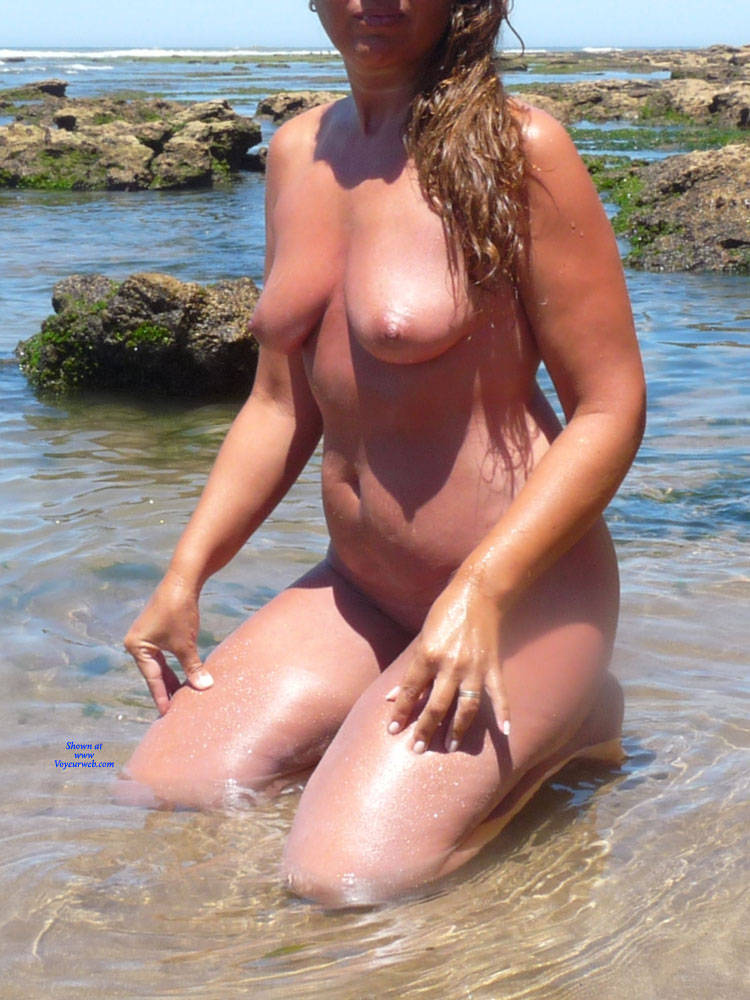 Pic #3 Naked In The Sun - Nude Girls, Beach, Big Tits, Outdoors, Shaved, Amateur