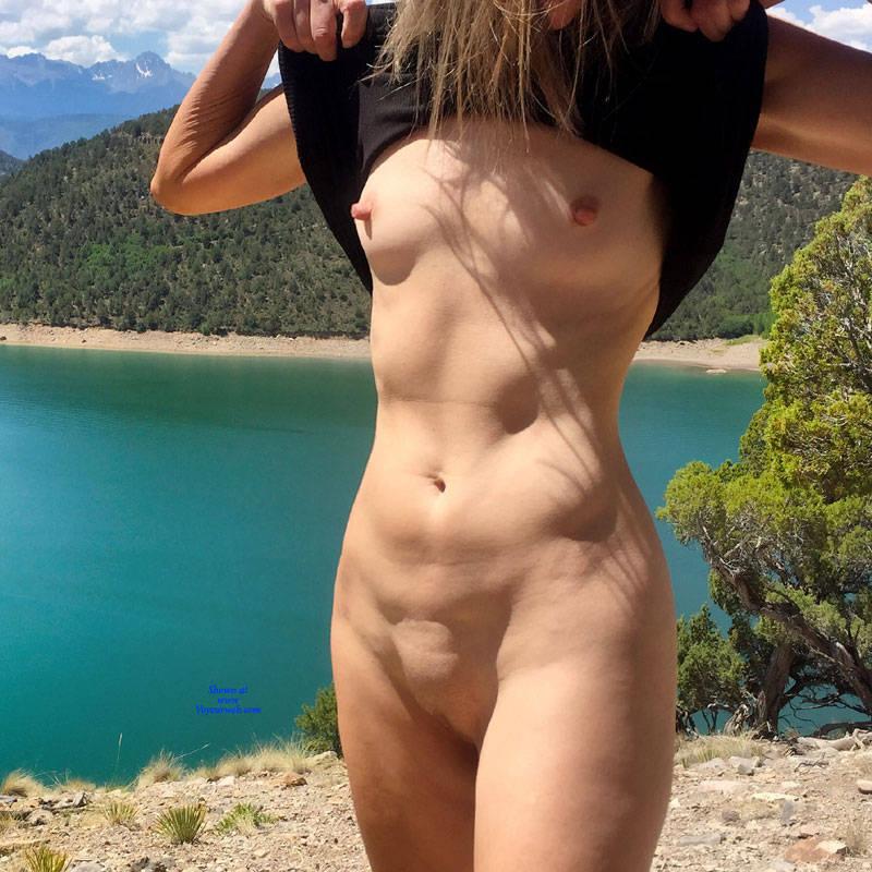 Pic #6 Nirvana Blue Mesa - Public Exhibitionist, Outdoors, Public Place, Shaved, Amateur, Firm Ass