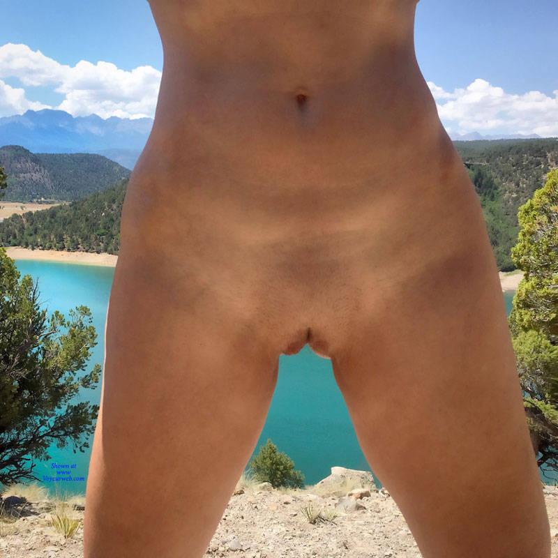 Pic #8 Nirvana Blue Mesa - Public Exhibitionist, Outdoors, Public Place, Shaved, Amateur, Firm Ass