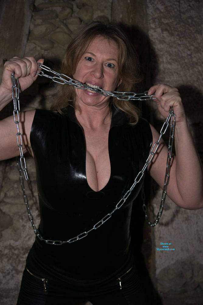 Pic #2 Anne In The Dungeon - Nude Amateurs, Big Tits, Brunette, Mature