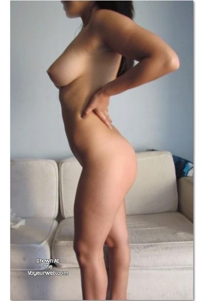 Pic #1 Medium tits of a co-worker - Valentina