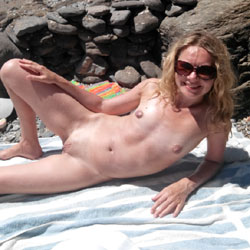 Day At The Beach - Nude Wives, Beach, Outdoors, Small Tits, Amateur