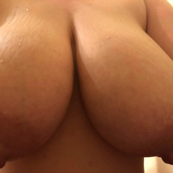 Very large tits of my wife - burning_up