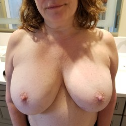 Medium tits of my girlfriend - Katrina