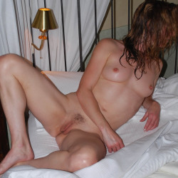 Medium tits of my girlfriend - Midwestern Girl