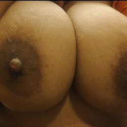Very large tits of my wife - Brooke