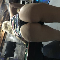 My wife's ass - Candy