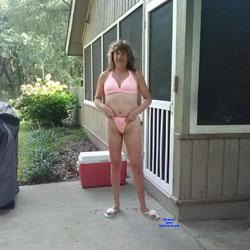 Loves Being Naked - Outdoors, Shaved, Amateur, Brunette