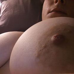 My BIG 38DD Pepperoni Areolas Breasts - Big Tits, Brunette, Amateur