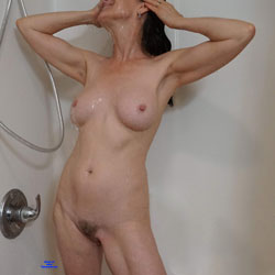 Ecstasy Shower - Nude Girls, Big Tits, Brunette, Bush Or Hairy, Amateur