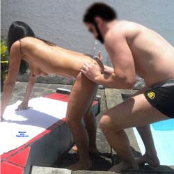 Selma Brasil And Friend - Nude Girls, Brunette, Outdoors, Amateur