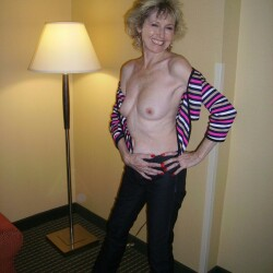 Medium tits of my wife - My wife