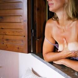 Medium tits of my wife - bellafiga