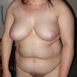 Large tits of my girlfriend - perky cute titties