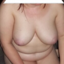 Large tits of my girlfriend - just her showing her boobs