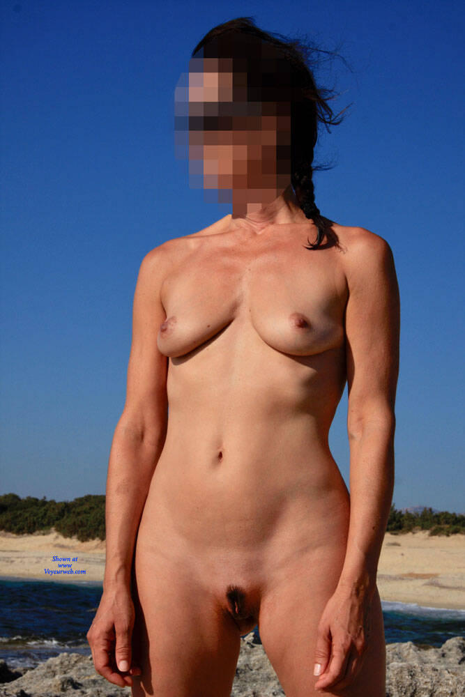 Pic #3 Nudist Sandra - Nude Amateurs, Beach, Outdoors