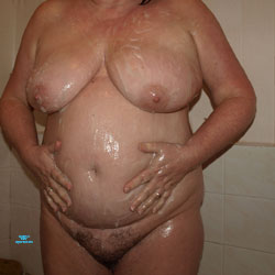 Denise44F (2012 Pics) - Nude Wives, Big Tits, Mature, Bush Or Hairy, Amateur, Hanging Tits, Wet Tits