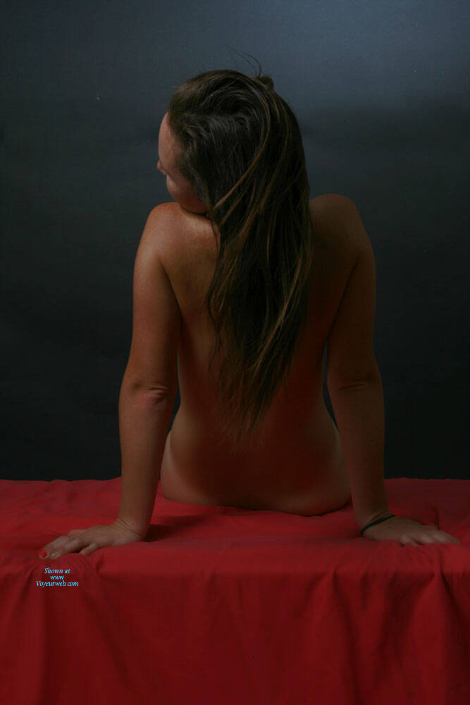 Pic #2 A Little More Of Carmen - Nude Girls, Brunette, Shaved, Amateur, Medium Tits
