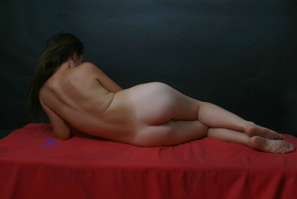 Pic #1 A Little More Of Carmen - Nude Girls, Brunette, Shaved, Amateur, Medium Tits