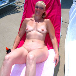 A Fun Day At The Nudist Resort - Nude Amateurs, Big Tits, Blonde, Mature, Outdoors, Shaved