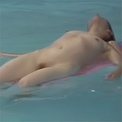 Shows What She's Got At The Pool Pt1 - Nude Girls, Outdoors, Bush Or Hairy, Amateur