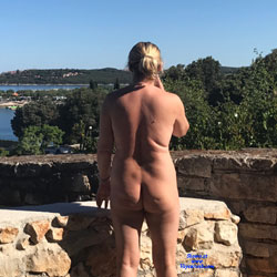 Pics From The Back - Nude Girls, Blonde, Outdoors, Amateur