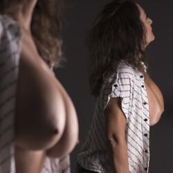 Large tits of my girlfriend - Deborah (Deby)