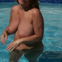 Large tits of my wife - Becky