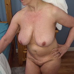 Morning Routine - Nude Amateurs, Big Tits, Mature