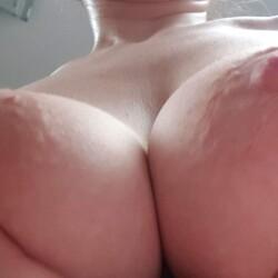 Medium tits of my wife - Romi black