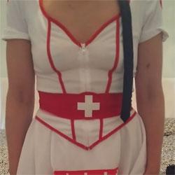 Nurse Melissa - Bush Or Hairy, Amateur, Costume