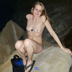 Naked At The Beach - Nude Outdoors, Shaved, Naked Girl, Sexy Ass, Amateur