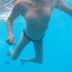 Underwater Fun! - Big Tits, Hairy Bush, Mature, Nude Outdoors, Naked Girl, Amateur