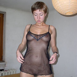 At Home - Big Tits, Shaved, Sexy Lingerie, Amateur