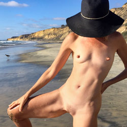 Nirvana 55th Birthday Bush - Hairy Bush, Mature, Nude Outdoors, Small Tits, Beach Voyeur, Nude Amateur