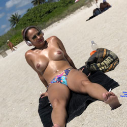 Haulover Hotties - Nude Girls, Beach, Big Tits, Brunette, Outdoors, Beach Voyeur